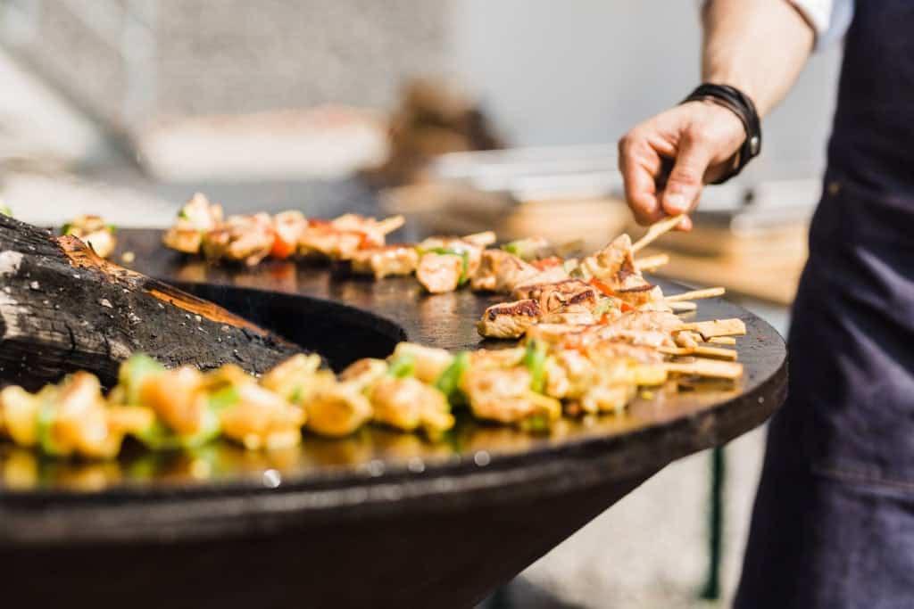 Catering de Zwaan-web-teppanyaki2